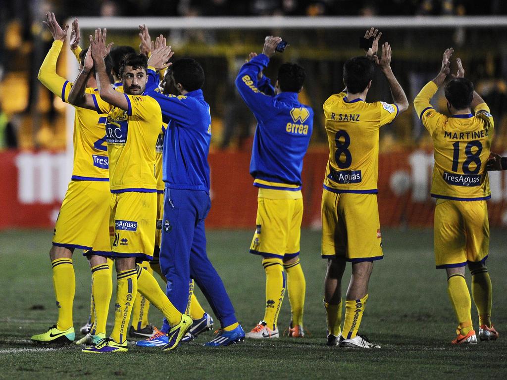 El Alcorcón se colocó primero de la Liga Adelante al ganar a la Ponferradina. (Foto: Getty)