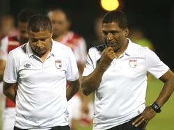 Alexis García (dcha.) durante el duelo amistoso ante el Sevilla hace dos días. (Foto: Imago)