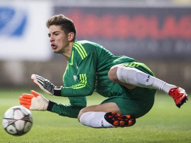 Error garrafal de Luca Zidane. (Foto: Getty)