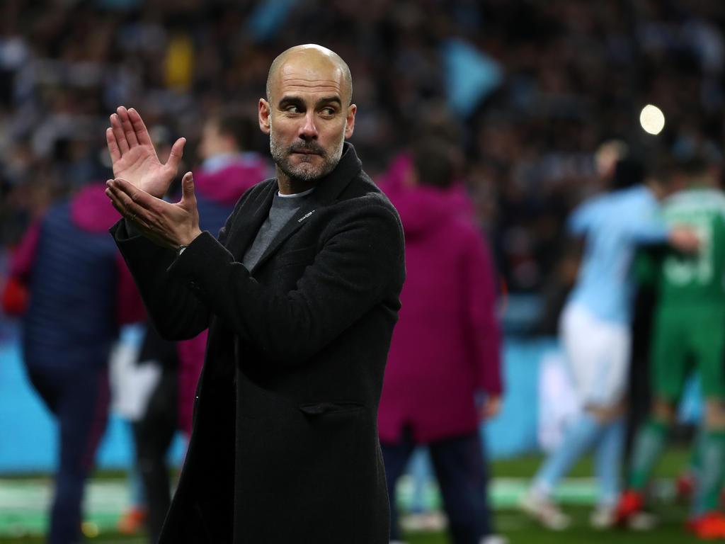 Pep Guardiola und Manchester City dominieren die Premier League