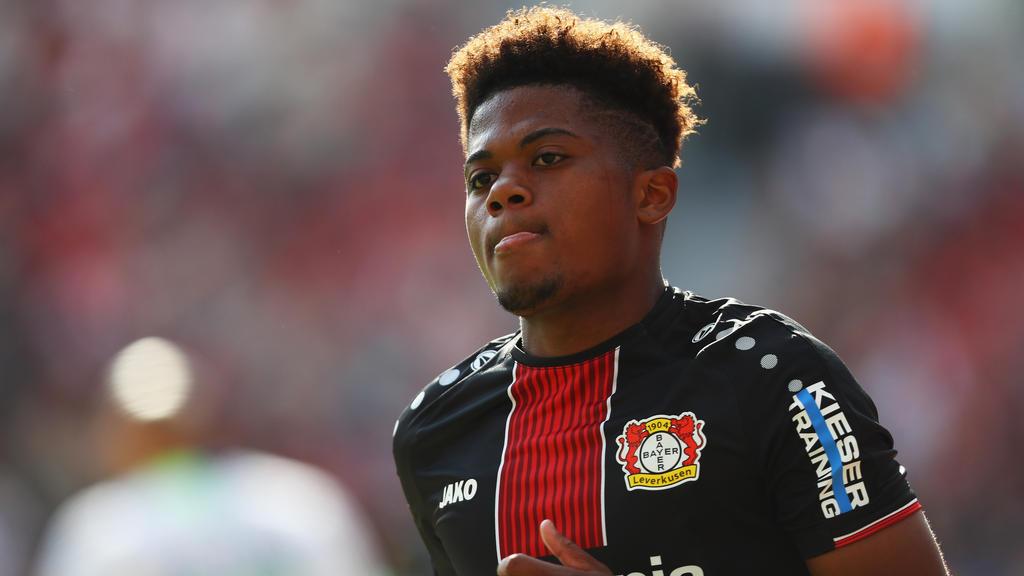 Hat in Leverkusen seinen Stammplatz verloren: Leon Bailey