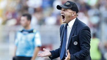 Übernimmt den Trainerjob beim FC Empoli: Giuseppe Iachini