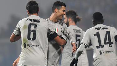 Sami Khedira und Juventus schlagen Sassuolo Calcio