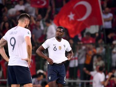 Frankreichs Fußball-Stars schauen nicht glücklich aus