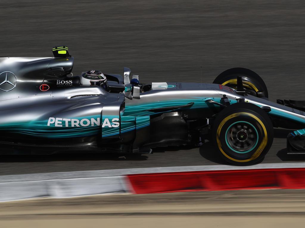 Valtteri Bottas sicherte sich die Bestzeit zum Testabschluss in Bahrain