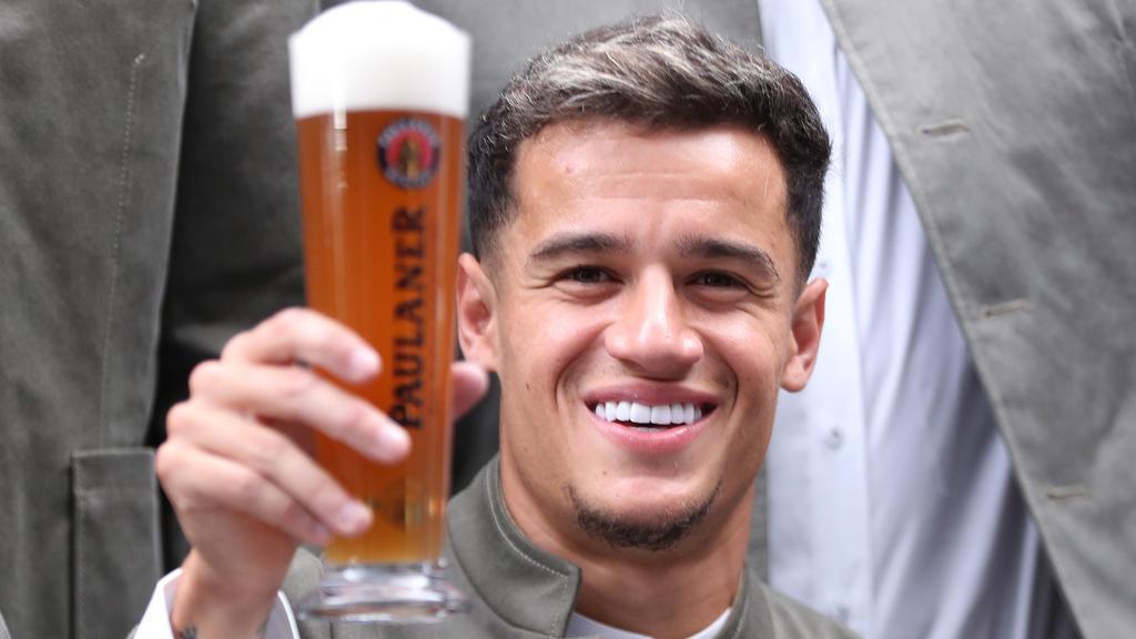 Coutinho erhielt Gratulationen von Jürgen Klopp