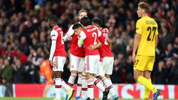 El Arsenal convenció el jueves goleando.
