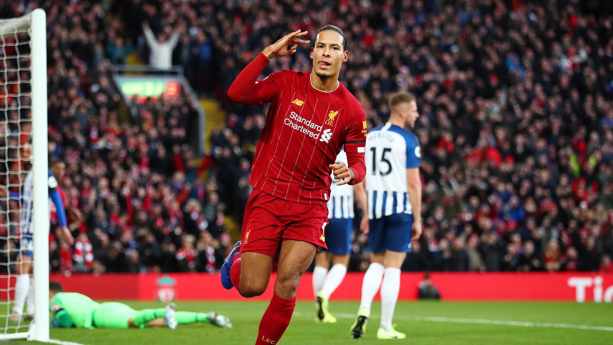 Virgel van Dijk erzielte einen Doppelpack für Liverpool
