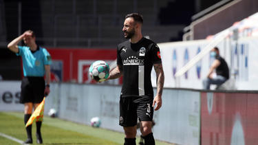 Hält sich beim FC Bayern fit: Diego Contento, zuletzt beim SV Sandhausen unter Vertrag