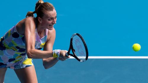 Petra Kvitova steht im Viertelfinale
