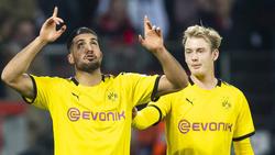 Konkurrenten im Mittelfeld des BVB: Emre Can (l.) und Julian Brandt
