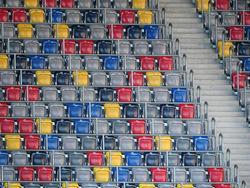 Im Düsseldorfer Stadion bleiben die Ränge am Freitagabend leer