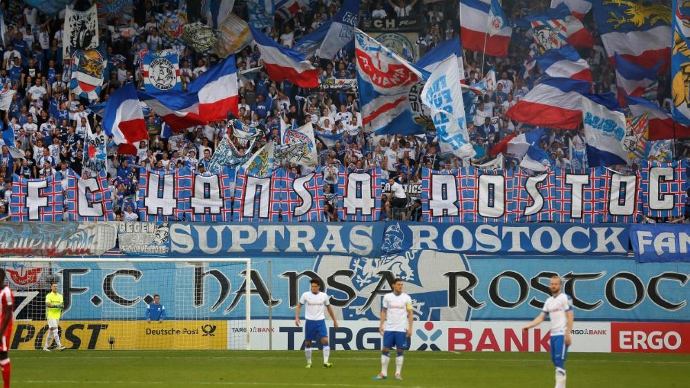 Rostock-Fans rufen zur Unterstützung für den Verein auf