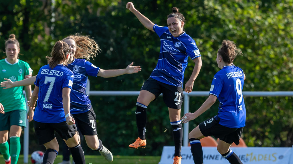 Sarah Grünheid schoss die Arminia ins Pokal-Halbfinale