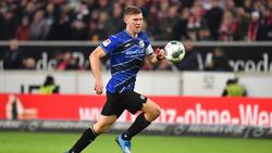 Seit 2011 bei Arminia Bielefeld: Fabian Klos
