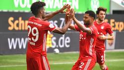 Coman und Gnabry könnten schon bald wieder für den FC Bayern auf dem Platz stehen