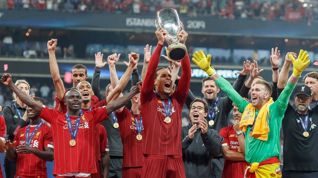 Der FC Liverpool gewann im letzten Jahr den Supercup