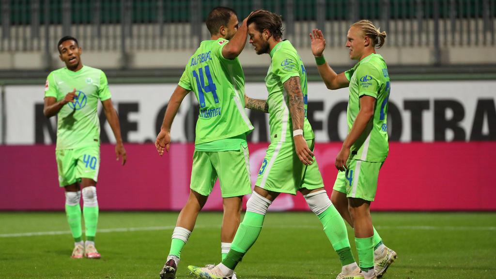 Der VfL Wolfsburg steht kurz vor dem Einzug in die Gruppenphase