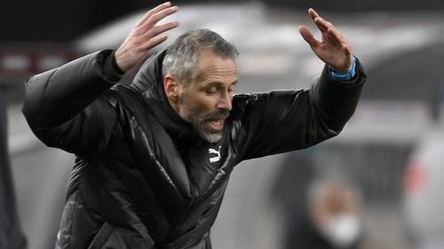 Gladbach-Coach Rose haderte mit dem VAR-Eingriff in der Nachspielzeit