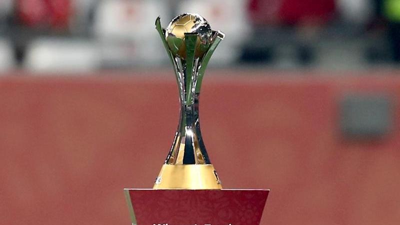 Der Pokal der Club-WM wurde in Katar ausgespielt