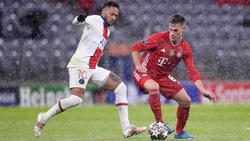Joshua Kimmich (r.) verlor sein Spiel am Mittwoch mit dem FC Bayern