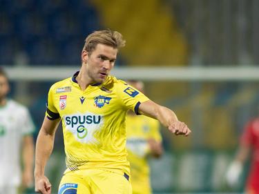 Im Herbst stürmte er noch für den SKN: Lukas Grozurek