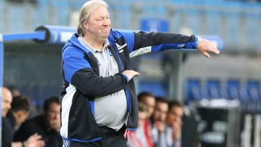 Horst Hrubesch will mit dem HSV aufsteigen