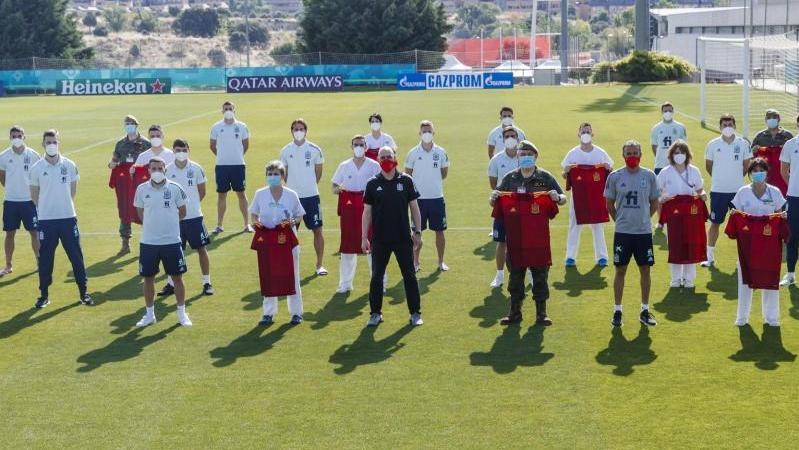 Die spanische Nationalmannschaft trifft zum Auftakt auf Schweden