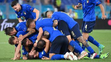 Die italienische Auswahl hat bei der EM vorzeitig die K.o.-Runde erreicht