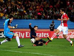 WM-Viertelfinale 2010: Paraguay - Spanien