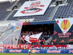 Ob die Salzburger Fans in der Europa League-Gruppe auch am Ende feiern dürfen?
