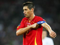 Beim letzten Auftritt im Londoner Wembley Stadion im Rahmen der EM-Quali 2012 durfte Branko Bošković die Kapitänsschleife der Montenegriner tragen