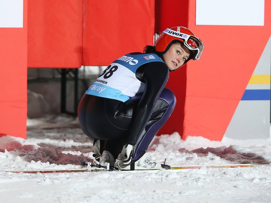 Carina Vogt verpasst erneut das Podium