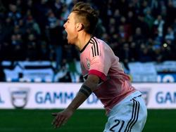Gleich zweimal traff Juventus Stürmer Paulo Dybala im Auswärtsspiel in Udine