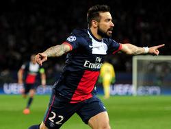 Ezequiel Lavezzi, attaccante del Paris Saint Germain