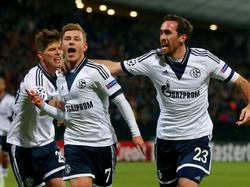 Riesenjubel der Schalker