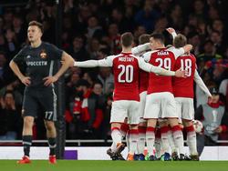 El Arsenal goleó al CSKA de Moscú con fútbol de otro planeta. (Foto: Getty)
