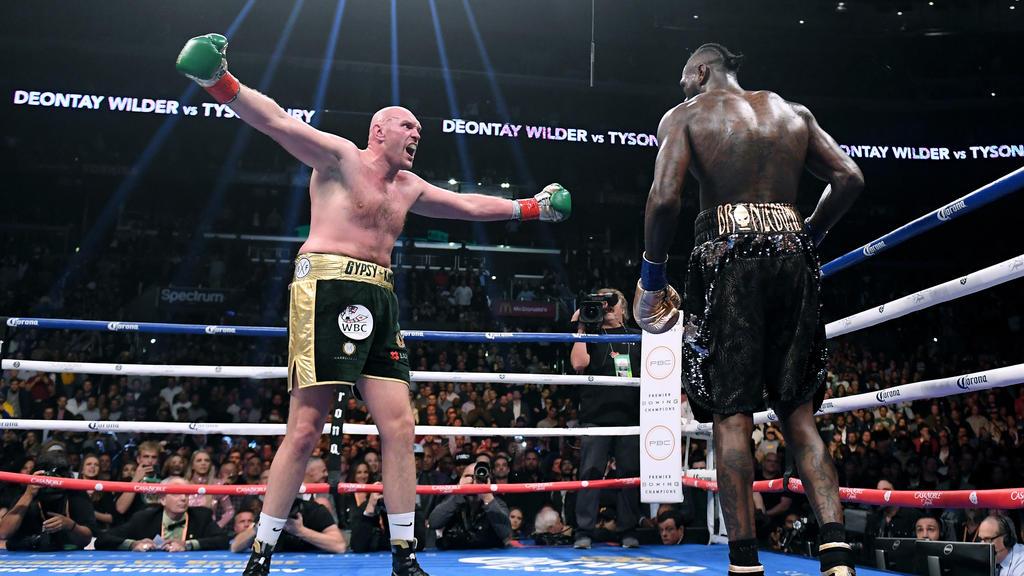 Tyson Fury (l.) und Deontay Wilder (r.) wollen einen Rückkampf