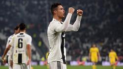 Cristiano Ronaldo erzielte den Treffer zum 3:0-Endstand