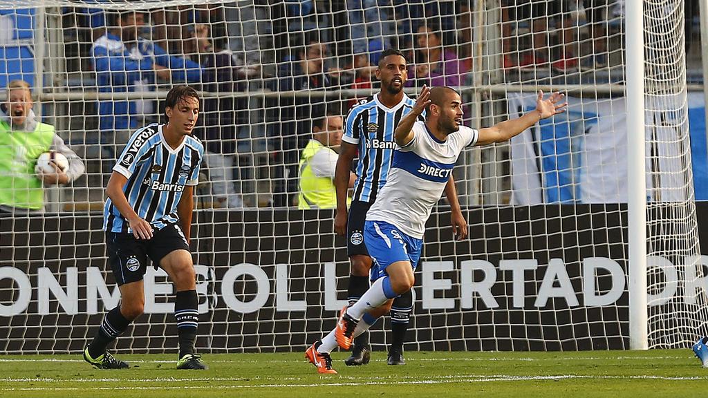 Sáez marcó el tanto de la victoria de la Universidad Católica. (Foto: Getty)
