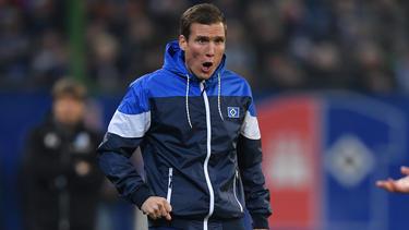 Hannes Wolf spielt mit dem HSV im Pokal-Halbfinale