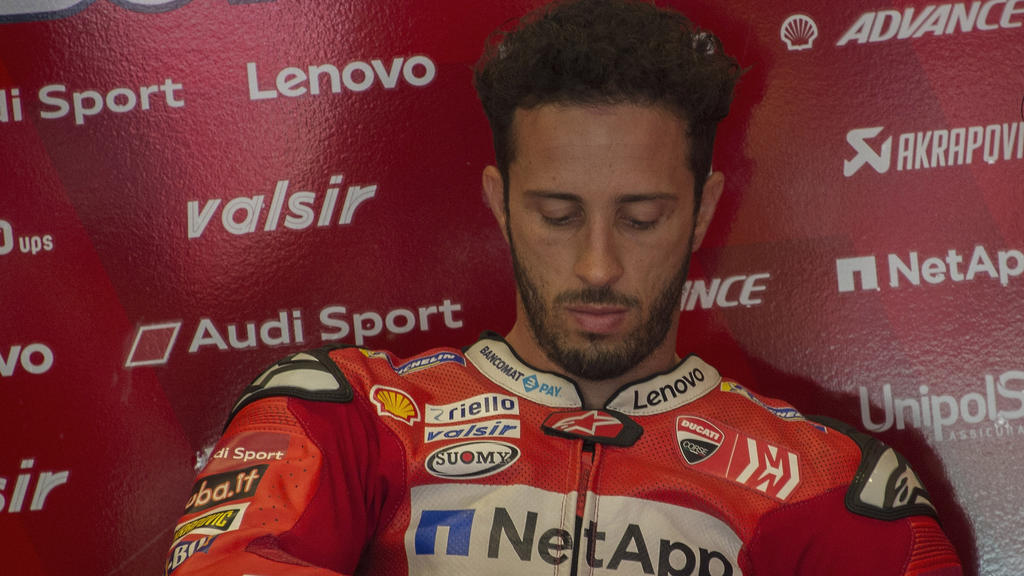 Andrea Dovizioso enttäuschte im Qualifying