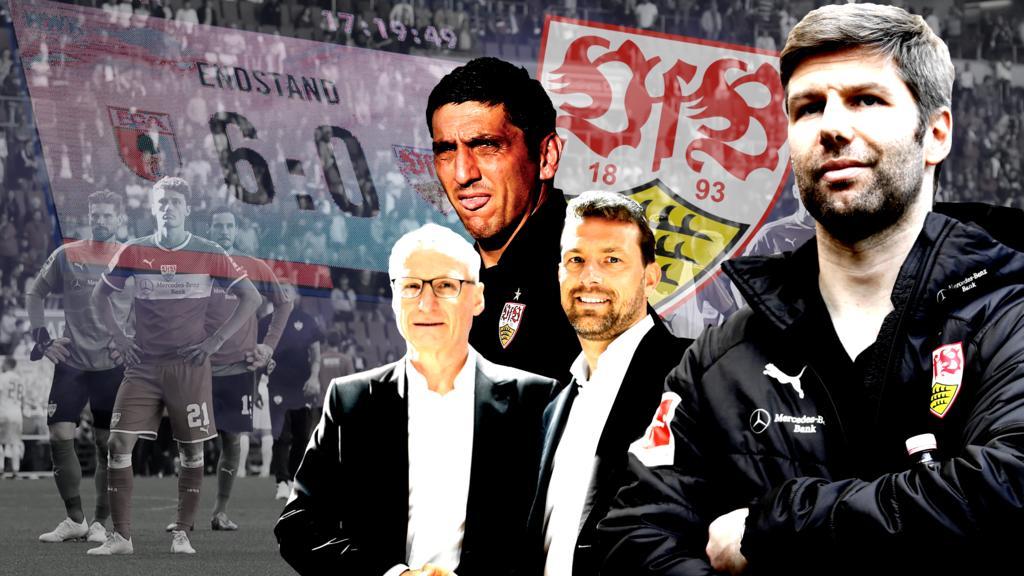 Chaos-Klub VfB Stuttgart: Chronik einer Horror-Saison