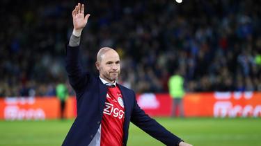 Erik ten Hag gewann mit Ajax Amsterdam das Double aus Meisterschaft und Pokal