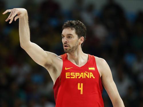 Pau Gasol kann den Titel mit Spanien nicht verteidigen