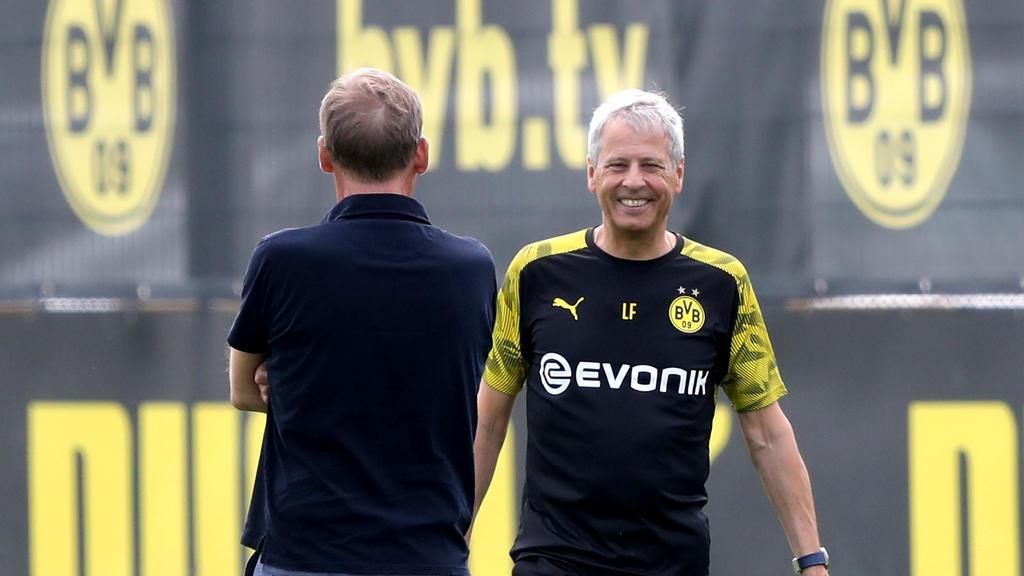BVB-Coach Lucien Favre baut auf schnelle Spieler