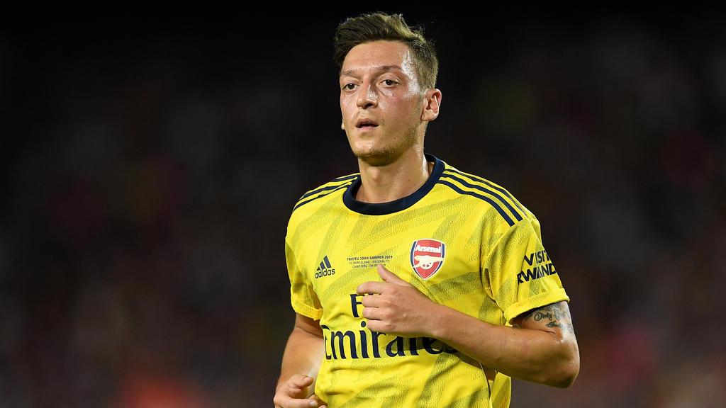 Der Vertrag von Mesut Özil bei Arsenal läuft noch bis 2021