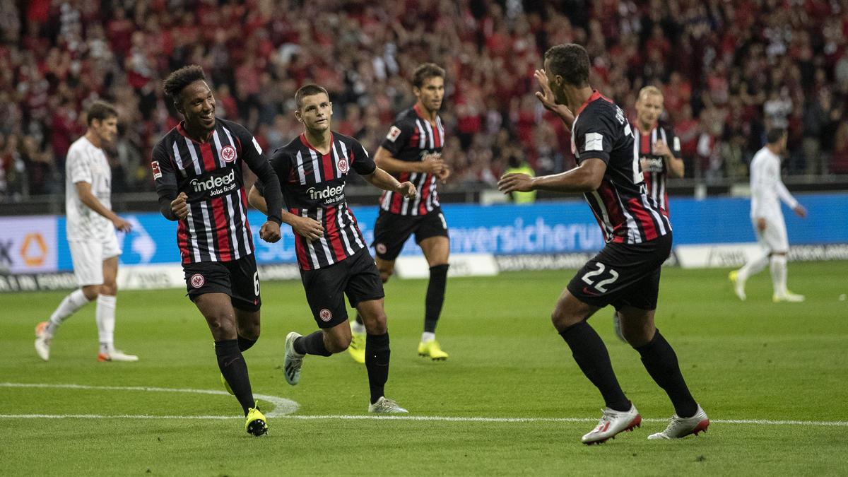 Eintracht Frankfurt setzte sich gegen den FC Vaduz durch