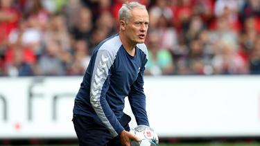Christian Streich trifft mit dem SC Freiburg auf die TSG Hoffenheim