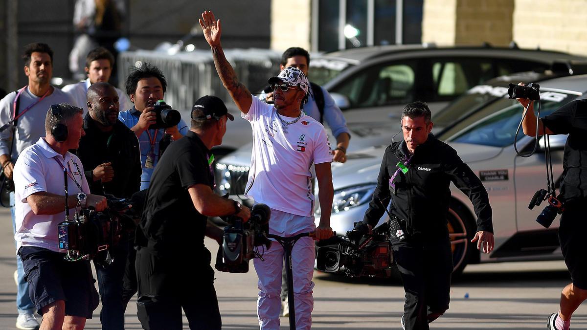 Lewis Hamilton ist sechsfacher Formel-1-Weltmeister